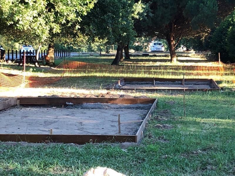Início das obras do Parque Infantil no Parque Verde de Lanheses