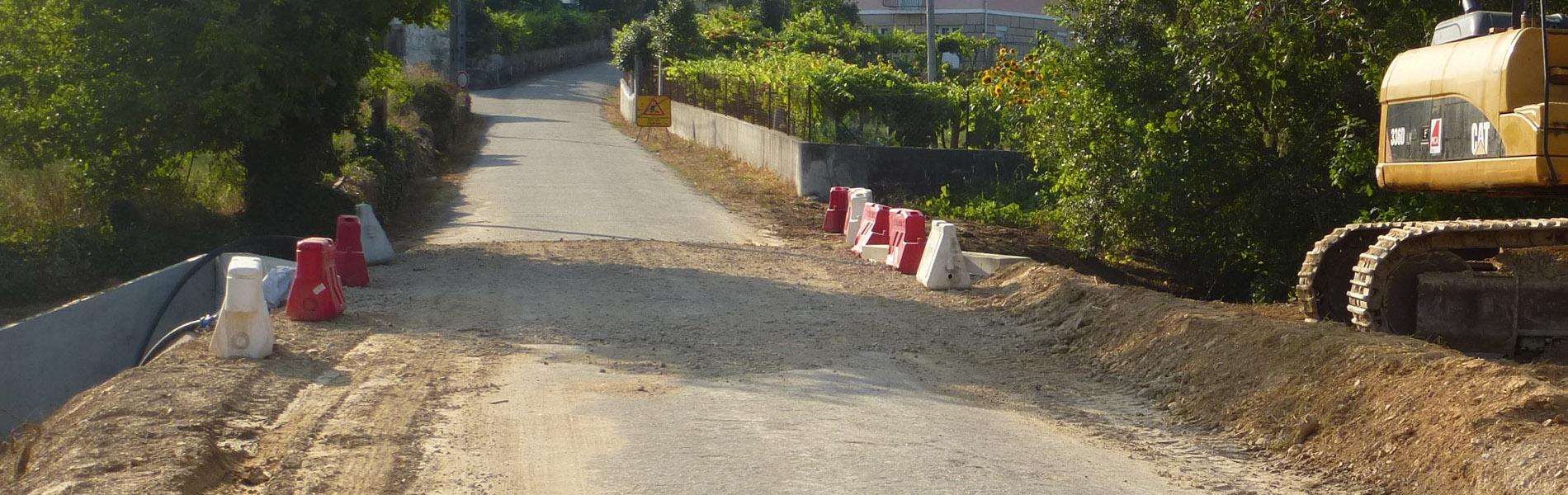 Melhoramentos em Lanheses - Alargamento de aqueduto na Estrada do Seixô